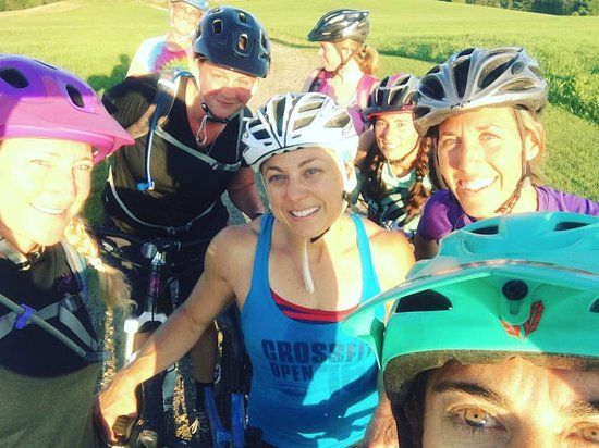 East Burke, VT: Ladies Ride