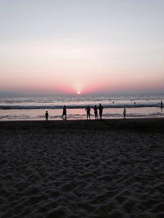 Nuevo Vallarta Beach: gorgeous sunsets