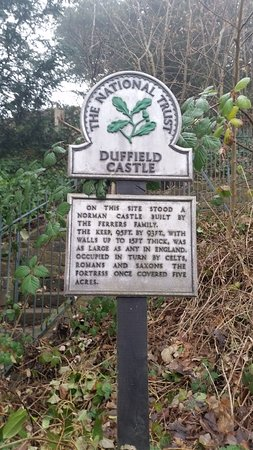 Duffield, UK: Signage