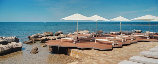 Melia Istrian Villas: Beach @ Stella Maris resort