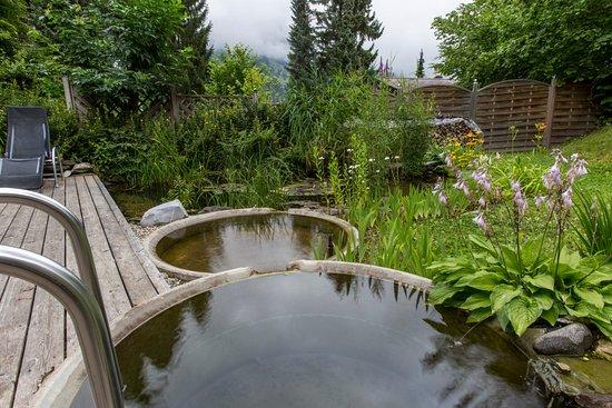 Grosser Garten Mit Natur Tauchbecken Picture Of Hotel Cresta