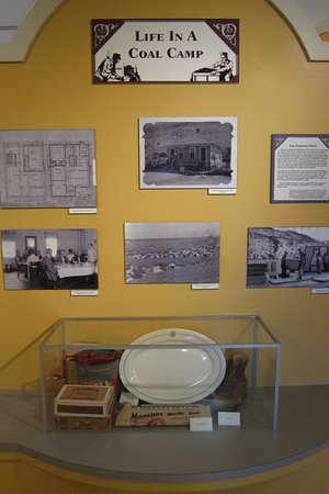 Pueblo, CO: Part of the 'Life in a Coal Camp' display