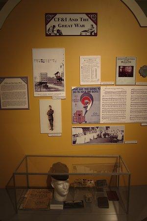Pueblo, CO: Part of the CF&I exhibit
