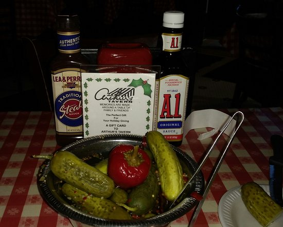Morris Plains, Nueva Jersey: Pickles and steak