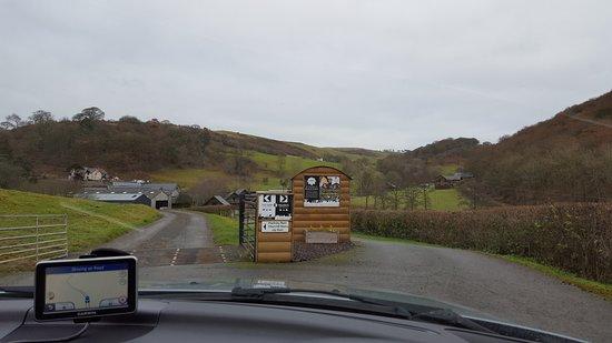Knighton, UK: entrance