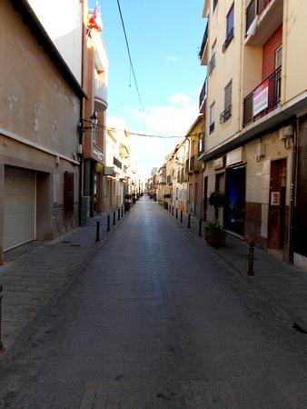 Catral, Espanha: calle céntrica
