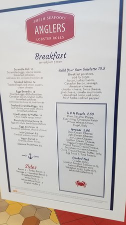 East Elmhurst, NY: Breakfast menu