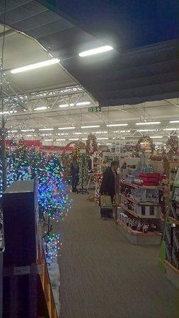 Ferndown, UK: Christmas Dispays