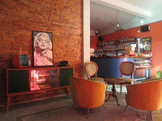 Pietrasanta, Italië: Caffè i Picari