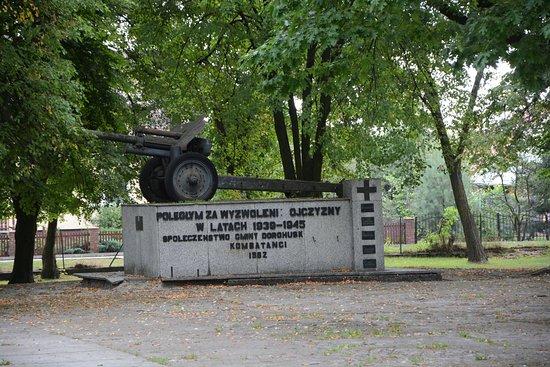 Dorohusk, بولندا: A monument in Dorohusk