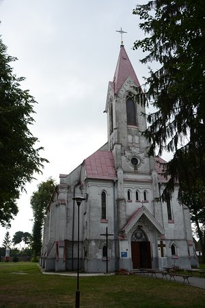 Dorohusk, بولندا: Our Lady and St. John of Nepomuk church in Dorohusk
