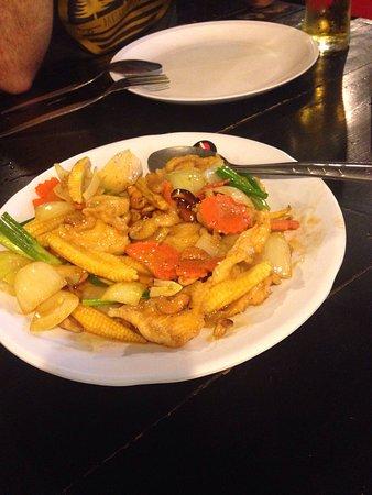 Пак-Нам, Таиланд: Pedimos las recomendaciones del camarero y nos encantó todo!