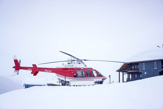 Purcell Mountain Lodge: December 5, 2016 first tour of the season!