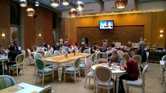 Marmara Hotel Budapest: Locale per la colazione