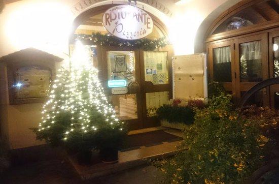 Ristorante Vecchia Fontana: Il clima natalizio