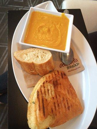 Rogers, AR: Pesto Panini & Butter Nut Squash