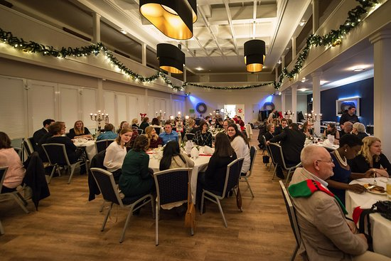 Wedel, Tyskland: 80 guests in the spacious dining room