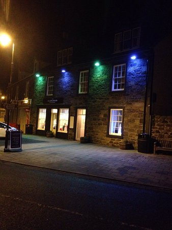 Port William, UK: The newly refurbished Clansman