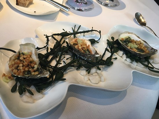 Jean Georges: Oyster Appetizer