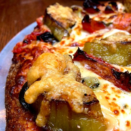 Kirkwood, MO: Eggplant Parmesan Pizza? Don't mind if I do!
