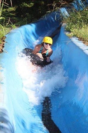 Rincon de La Vieja, Costa Rica: The Slide