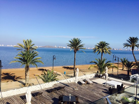Mar de Cristal, Spanien: Cafe Arena