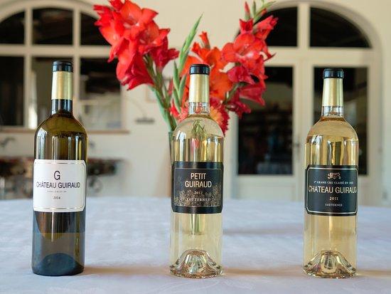 Sauternes, Frankrike: Wine tasting.