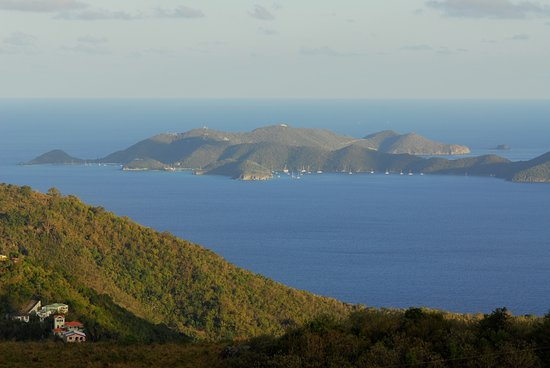 Road Town, Tortola: The stunning BVI. Cuan Law's home