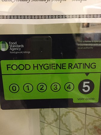 golden city chinese 5 stars food hygiene rating