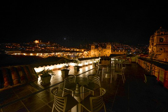 Plaza de Armas Cusco Hotel: Terraza