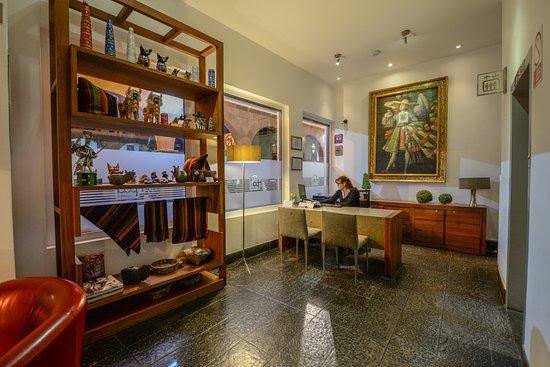 Plaza de Armas Cusco Hotel: Lobby