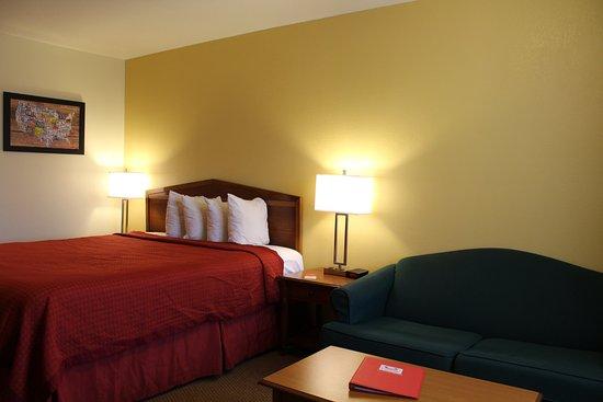 Econo Lodge & Suites Lodi: King Bed
