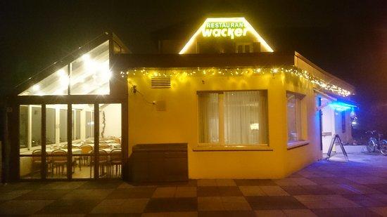 Reinach, Switzerland: Steakhouse Wacker in Weihnachtsstimmung