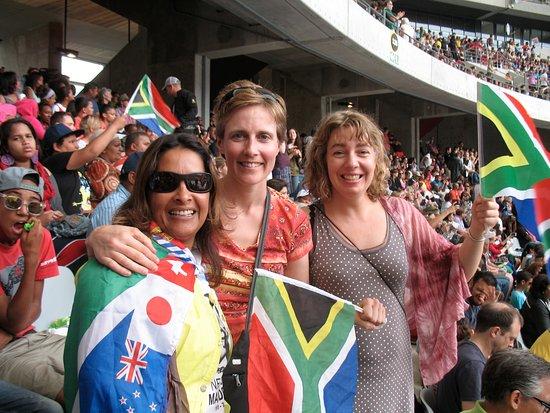 AWOL Tours: Au stade de Cape Town: célébration de la vie de Nelson Mandela