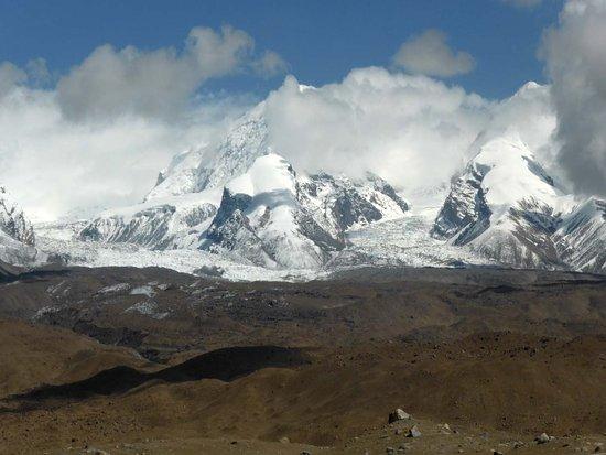 Akto County, China: Gletscher an der Westabdachung