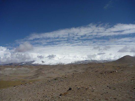 Akto County, Chiny: Die Bulunkou-Wüste vor dem Kongur