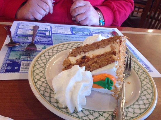 Denver, PA: Fantastic carrot cake