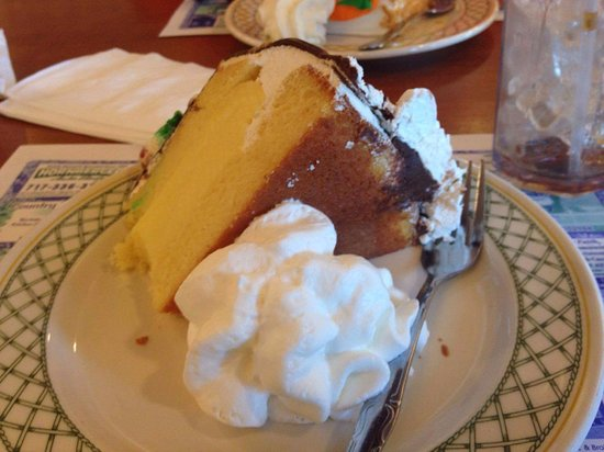 Denver, Pensilvania: Boston cream cake