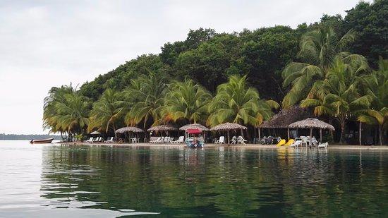 Bocas Town, Panama: Playa de las Estrellas....