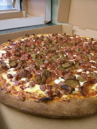 Rockland, Canada: Meat Lover, Pepperoni, Ham, Real bacon, Italian sausage, Meat balls