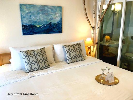 Homer Inn & Spa: Oceanfront King Room