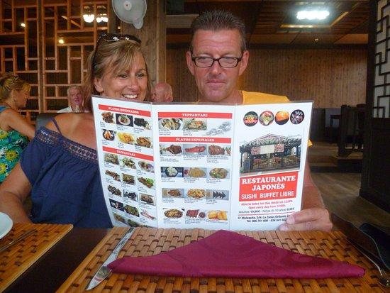 La Zenia, Spain: kiezen uit het all in menu