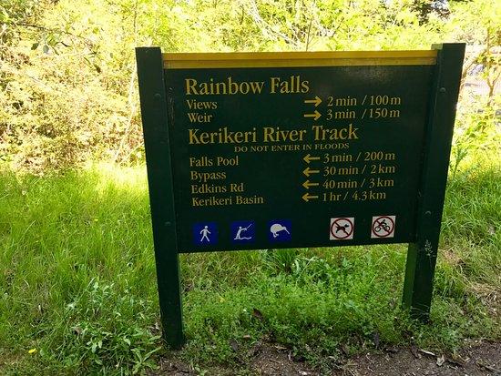 Kerikeri, Yeni Zelanda: Trail info