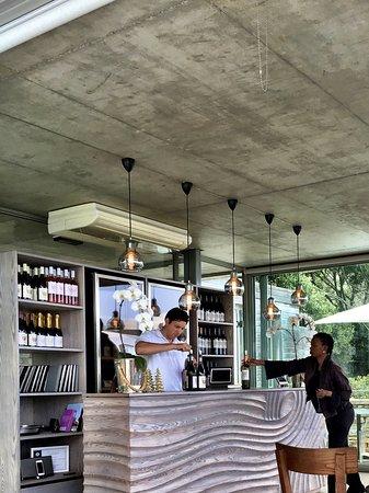 Constantia, Sør-Afrika: Tasting room