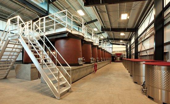 Paso Robles, CA: Concrete Fermenting Tanks