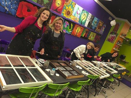 Flemington, Nueva Jersey: Working on the Windows