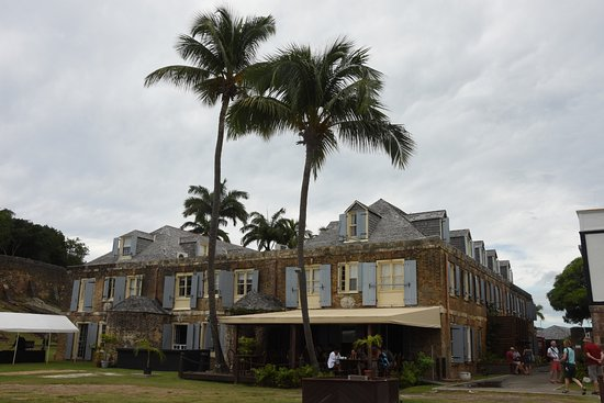 Englis Harbour, Antigua: Colonial Buildings