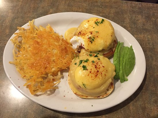 Needles, Californie : EGGS BENEDICT