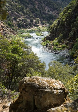 Merlin, Όρεγκον: Incredible views you will see on a Rogue River trail hiking trip in Southern Oregon.