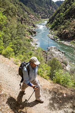 Merlin, OR: Hiking trips on the Rogue River Trail.